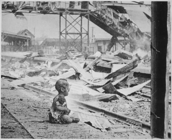 Шанхай 1937 г. по време на японската окупация.