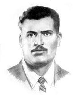 Един от водачите на горяните Георги Търпанов, рисунка - Костадин Събев
