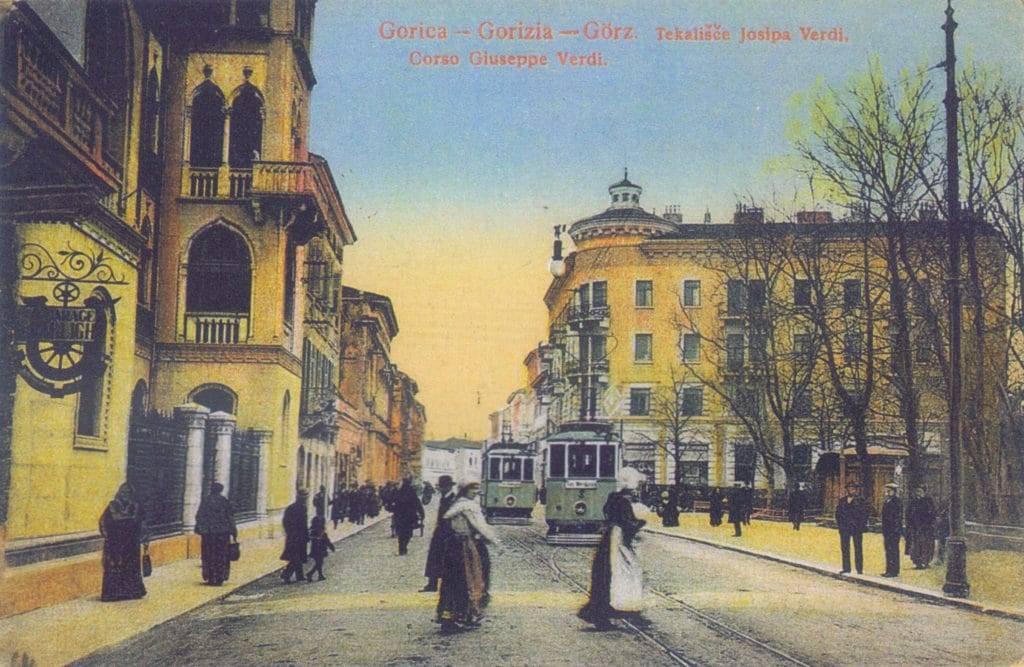 Гориция, пощенска картичка