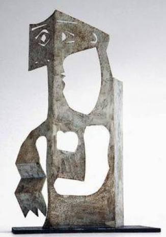 Пабло Пикасо, Скулптура на жена, 1961 г.
