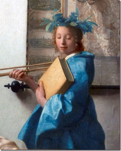 Clio, Muse de l'Histoire par Vermeer