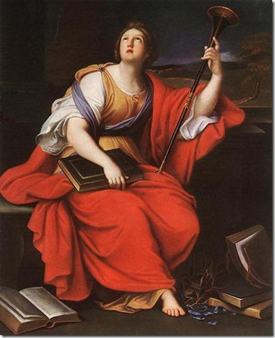 Clio, Muse de l'Histoire par Mignard