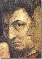 Autoportrait de Masaccio, fresaue, Chapelle Brancacci, église Santa Maria del Carmine, Florence