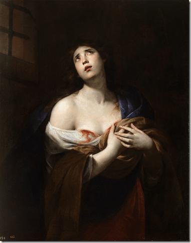 Sainte Agathe par Andrea Vaccaro