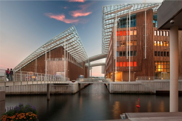 Le musée Astrup Fearnley, Renzo Piano