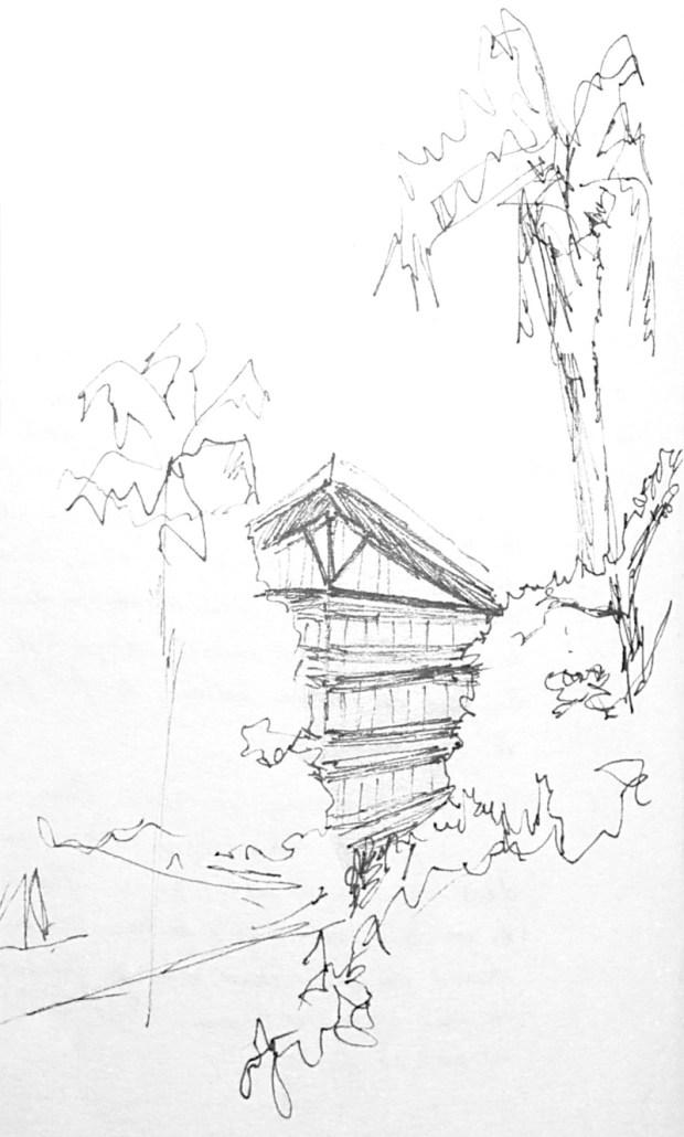 Beitou Library croquis