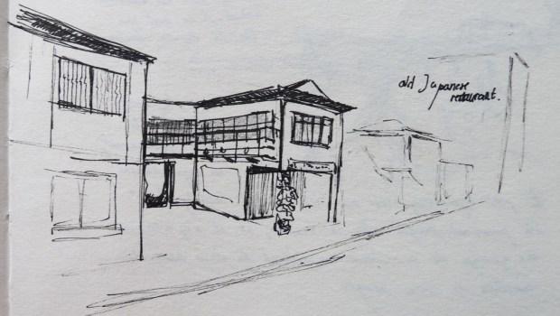 Ancien restaurant japonais, transformé en salon de thé par l'association Takao Kaisha, Kaoshiung