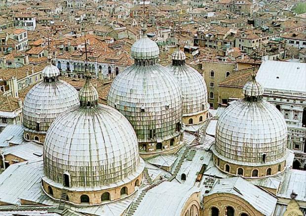 Les toitures de Venise