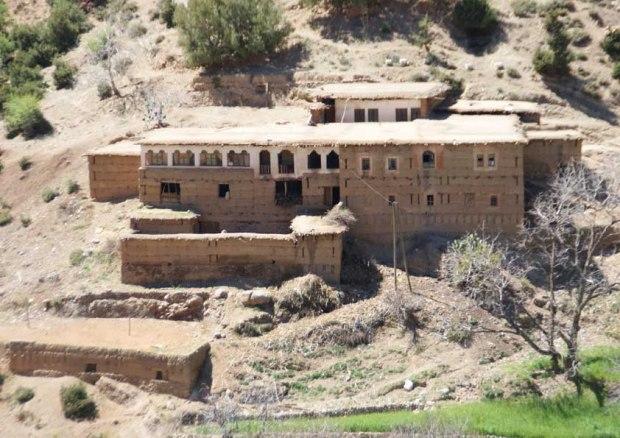 Photographie d'une maison d'hôte a proximité de la ville de Beni mellal