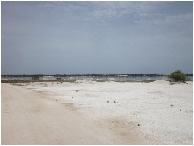 photographie des salines a proximité de tantan