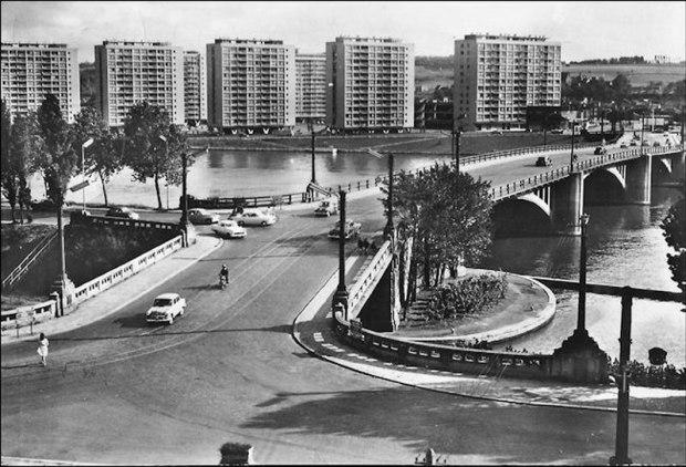 Droixhe, dans les années 1960.