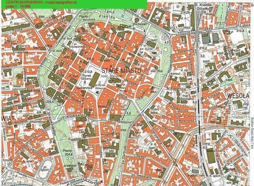 Plan centre-ville