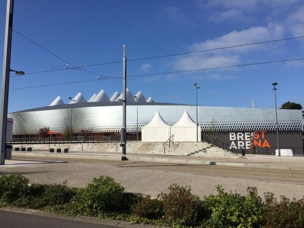 """La """"Brest Arena"""", conçue par les architectes Hérault Arnod"""