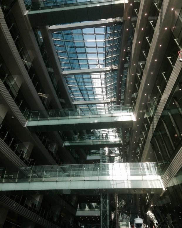 Intérieur de la bibliothèque de Guangzhou