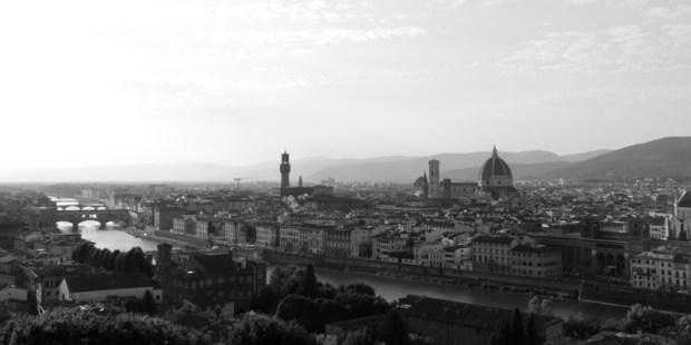 Florence et son Duomo, depuis San Miniato al Monte