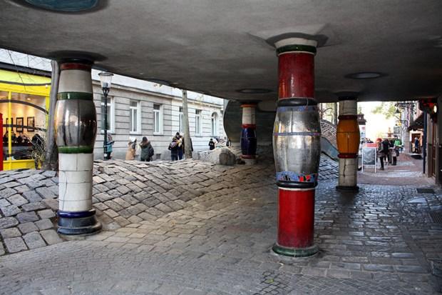 Hundertwasserhaus, Vienne, 1983-1985