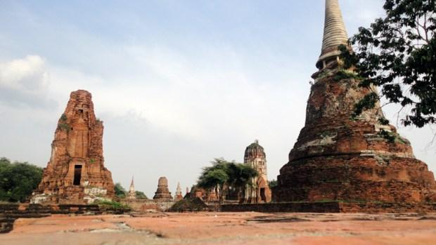 Skyline d'Ayutthaya