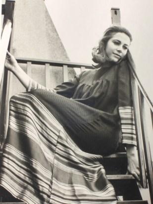 Eliette mannequin chez Catherine Harlé