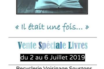 Vente spéciale livres