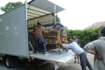 Chargement camion