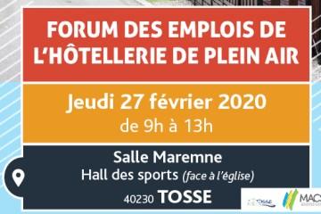 forum des emplois de l'hotellerie de plein air