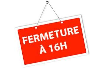 fermeture à 16h de l'Association Voisinage