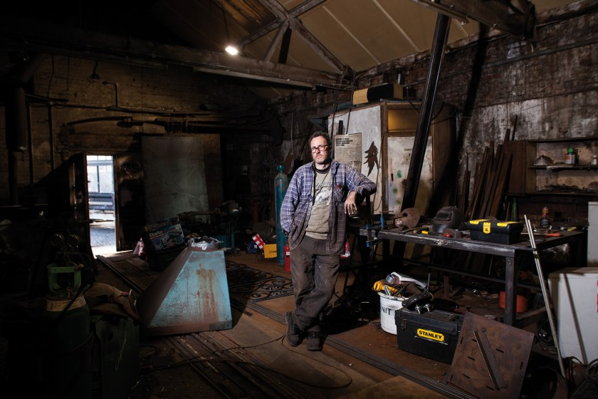 Stuart at Clapton's Tram Depot by Tilley Harris & Alex Pielak The Deserted Village, Photomonth 2014 (© Voist Ltd.)