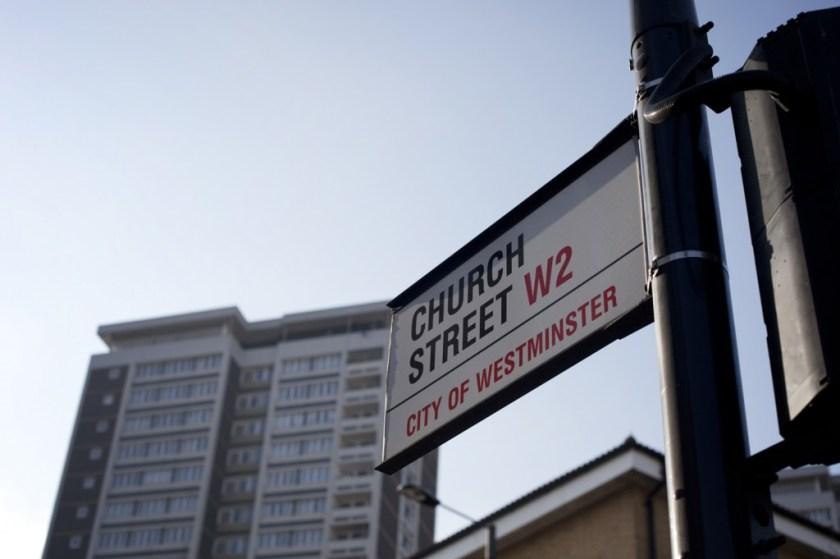 City of Westminster Church Street sign (© Voist Ltd)