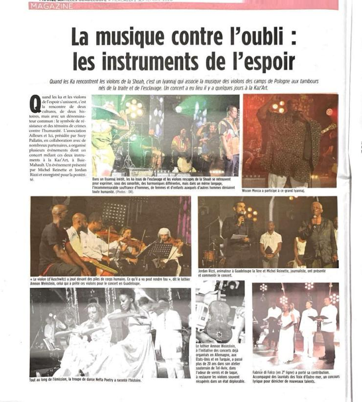 Voix des Outre-mer France Antilles Guadeloupe