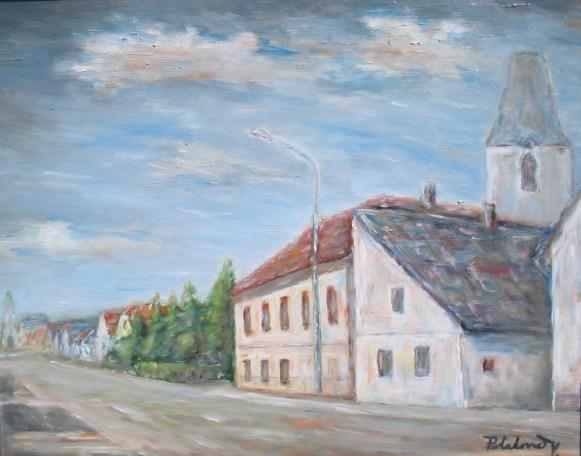 Pred farou rk kostola