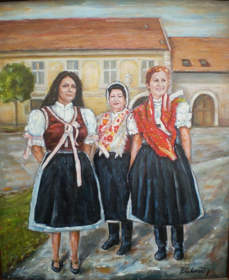 Račianske ženy pred kúriou