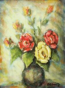 Zátišie s kvetinou