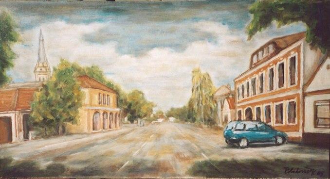 Hlavná ulica v Golse