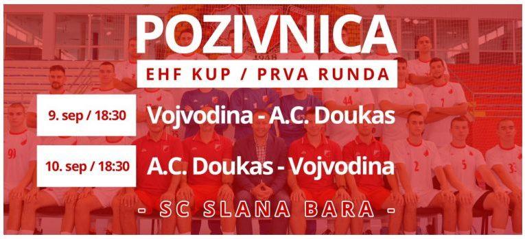 EHF kup u Novom Sadu