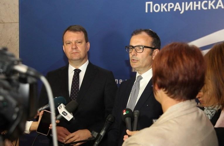 Председник Мировић примио шефа Делегације Европске уније Сема Фабриција