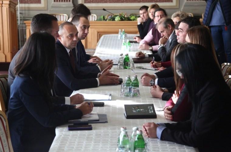 Потпредседник Милићевић у радној посети општини Бечеј