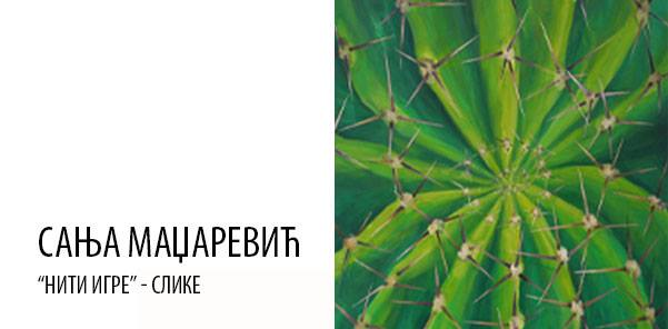 """Izložba slika Sanje Madžarević """"Niti igre"""" od 26. novembra u Likovnom salonu"""