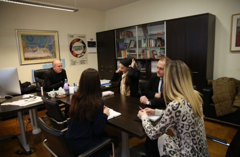 Панаотовић са сарадницима угостио представнике Амбасаде Украјине