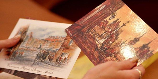 Многообразие современных почтовых открыток