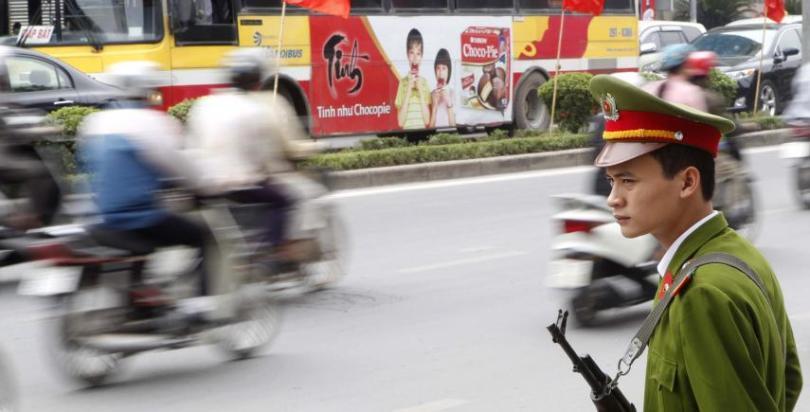 ITT Vietnamese Policeman REUTERS-Kham