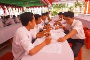 30-Exam in Kom Pong Spean 2016