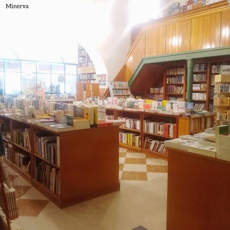 Rotte librarie. Libreria Minerva, Trieste.