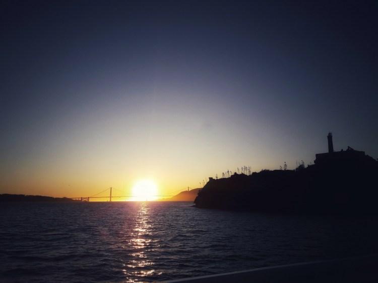 Caterina Salomone, In viaggio, USA day 3. In ferry dall'isola di Alcatraz alla città di San Francisco.