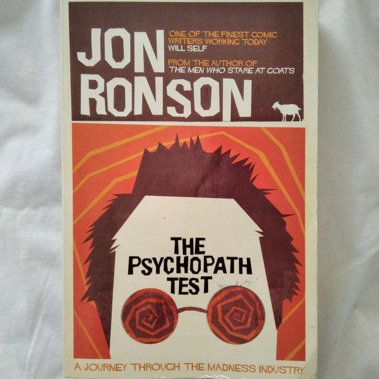 Jon Ronson, The Psychopath Test (Pan McMillan, 2012). Recensione di MAFA.