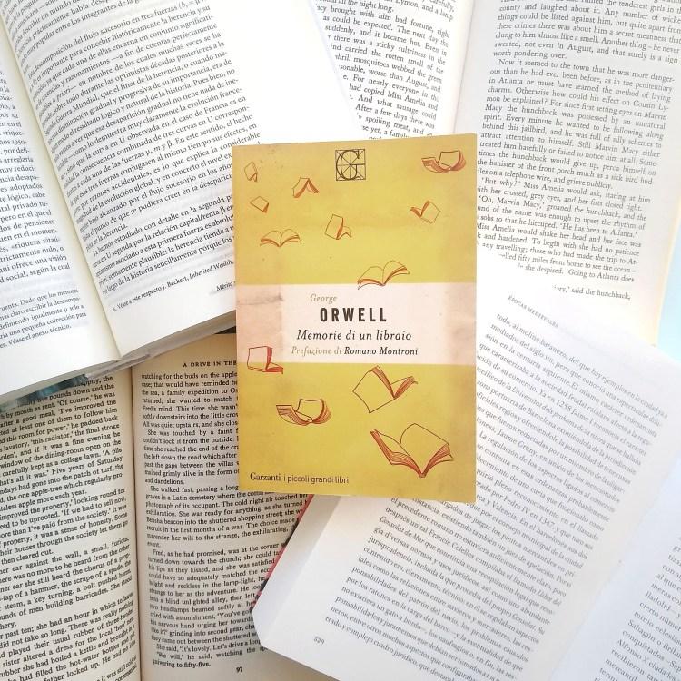 Memorie di un libraio, George Orwell (Garzanti, 2021). Recensione di Chiara Mancinelli.