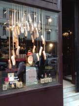 Iris Prima window at Penhaligon's