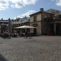 Covent Garden on tube strike day