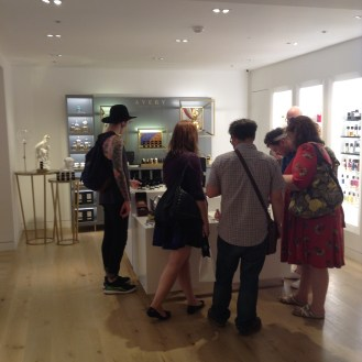At Fortnum's perfumery
