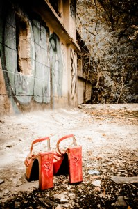 chaussures pinstripping friche industrielle