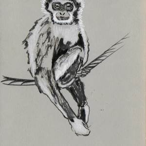 Claudine Santelli-gibbon à mains blanches